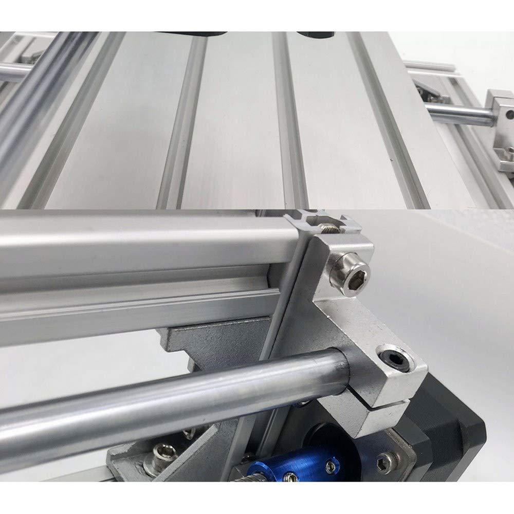 15W Cabezal l/áser Fresadora CNC 3018 Pro GRBL Control DIY Mini 3 ejes M/áquina para trabajar la madera M/áquina de grabado CNC ER11