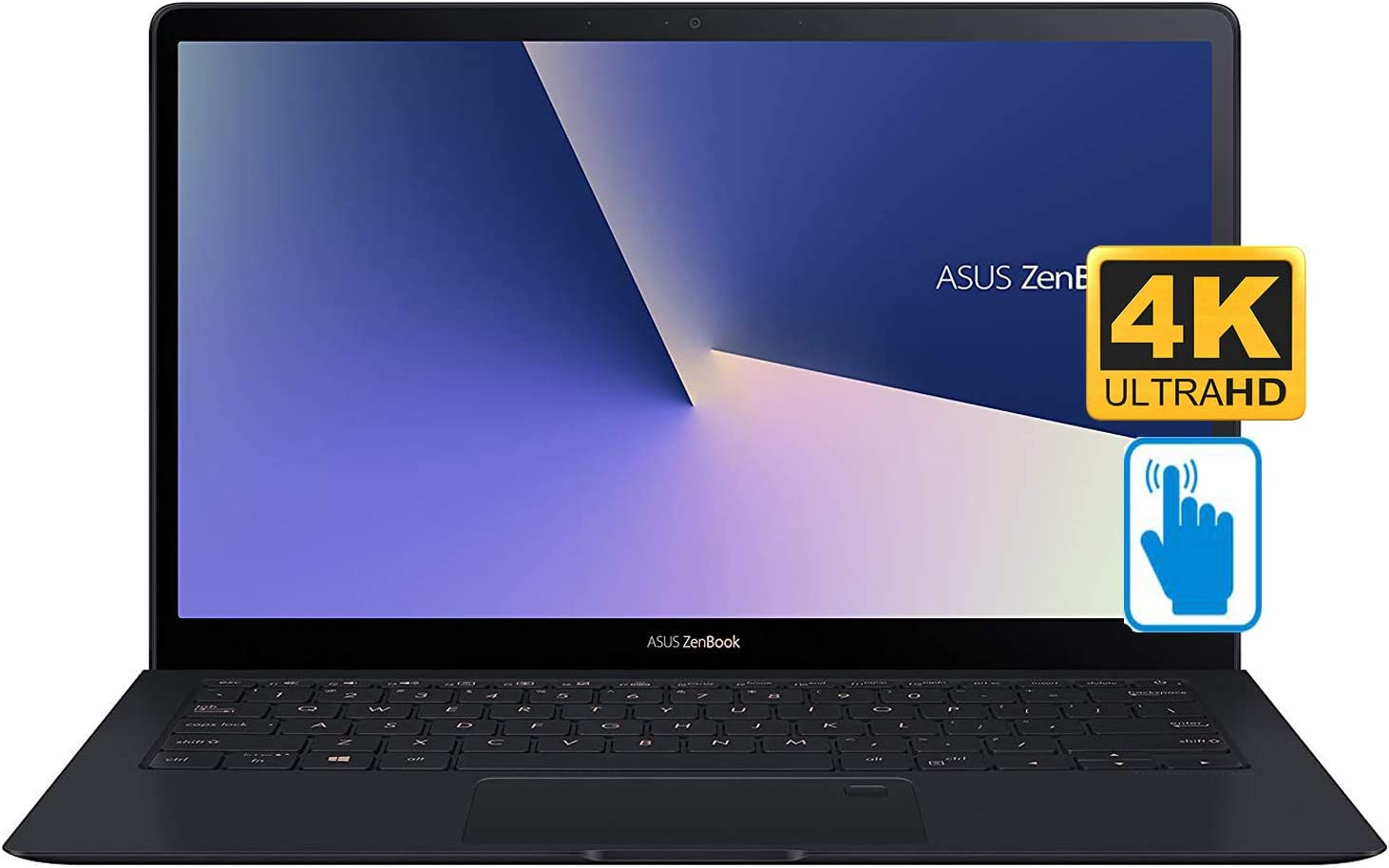 "ASUS ZenBook S Ultra-Thin and Light Laptop (8th Generation Intel Core i7-8565U, 16GB RAM, 1TB M.2 PCIe SSD, 13.3"" Flat Touch 4K UHD (3840x2160) Display, UHD Graphics 620, Fingerprint, Win 10 Pro)"