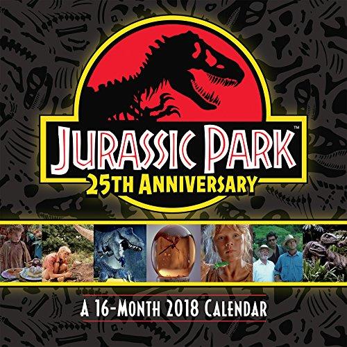 Jurassic Park 25th Anniversary 2018 Wall Calendar