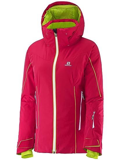Salomon Damen Snowboard Jacke Whitecliff GTX Jacket: Amazon
