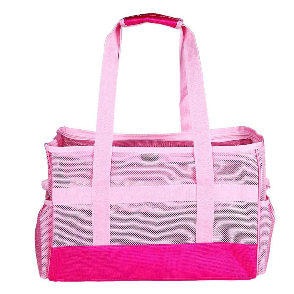 45x20x30cm Aoligei Out-Hand Breathable mesh Bag with Portable one-Shoulder Bag