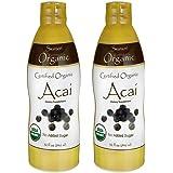 Swanson Certified Organic Acai 32 fl oz Liquid 2 Pack