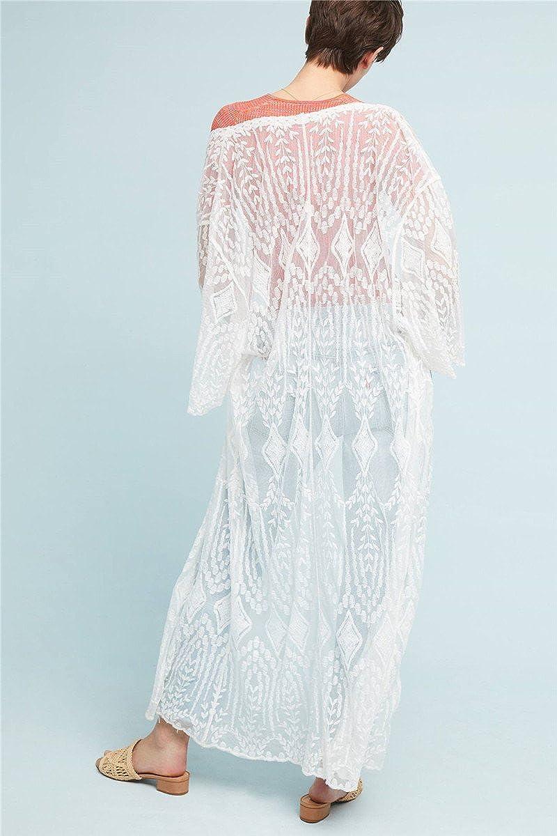 Jastore/®Boho Damen Strandponcho Sommer Kleid /Überwurf Kaftan Strandkleid Bikini Tunika Cover Up