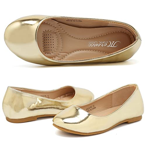 Amazon.com | CIOR Girls Ballet Flats for Jane Mary Wedding Party ...