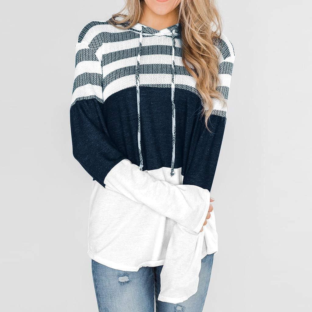 Deman outfit-Artistic9 - Sudadera para Mujer a Rayas de ...