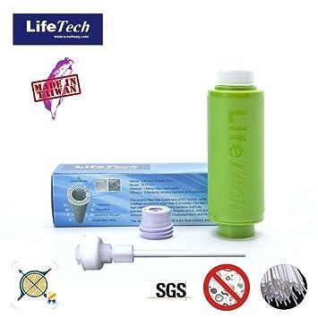 amazon com lifetech camping pocket filter green color rh amazon com