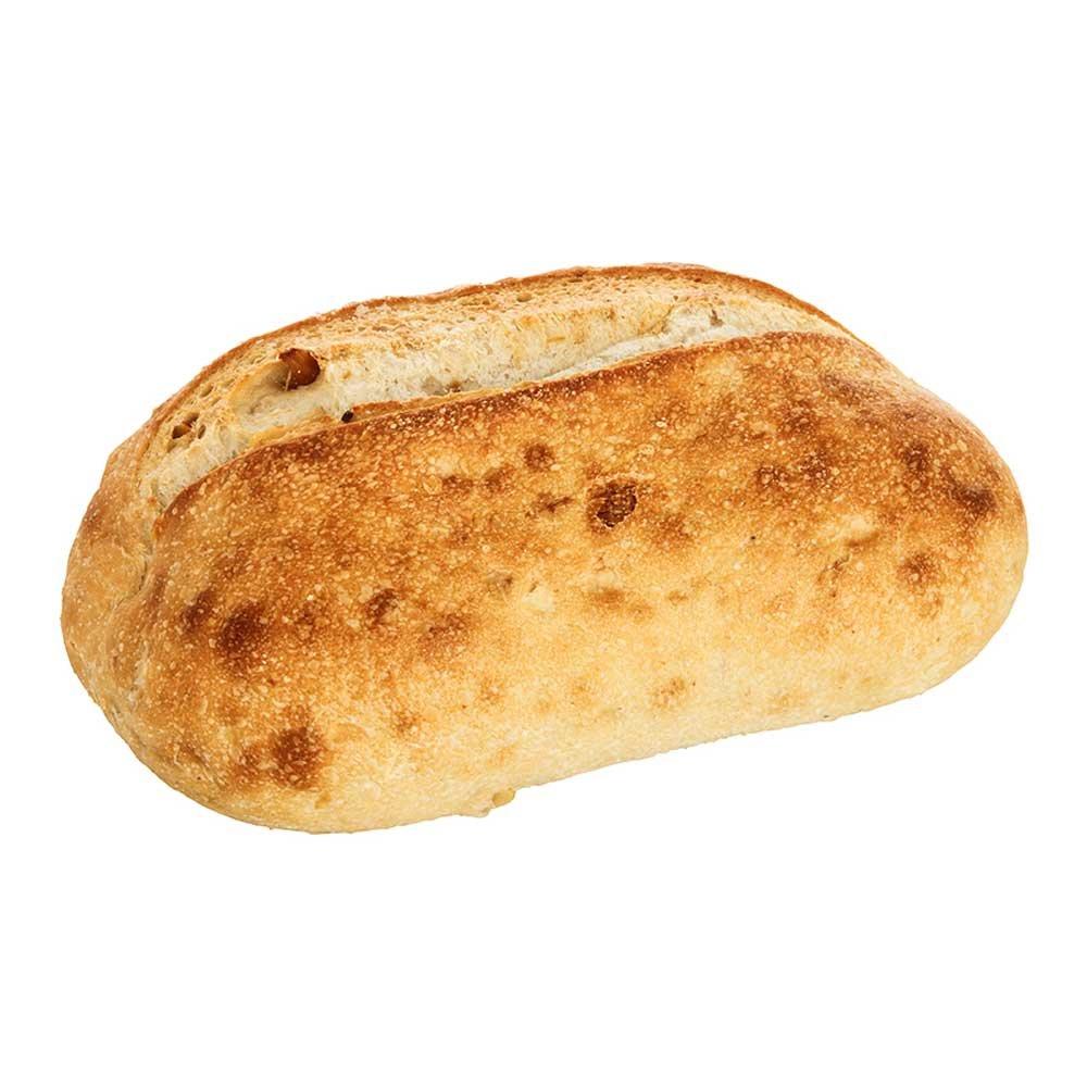 Labrea Bakery Roasted Garlic Bread Loaf, 16 Ounce - 12 per case.
