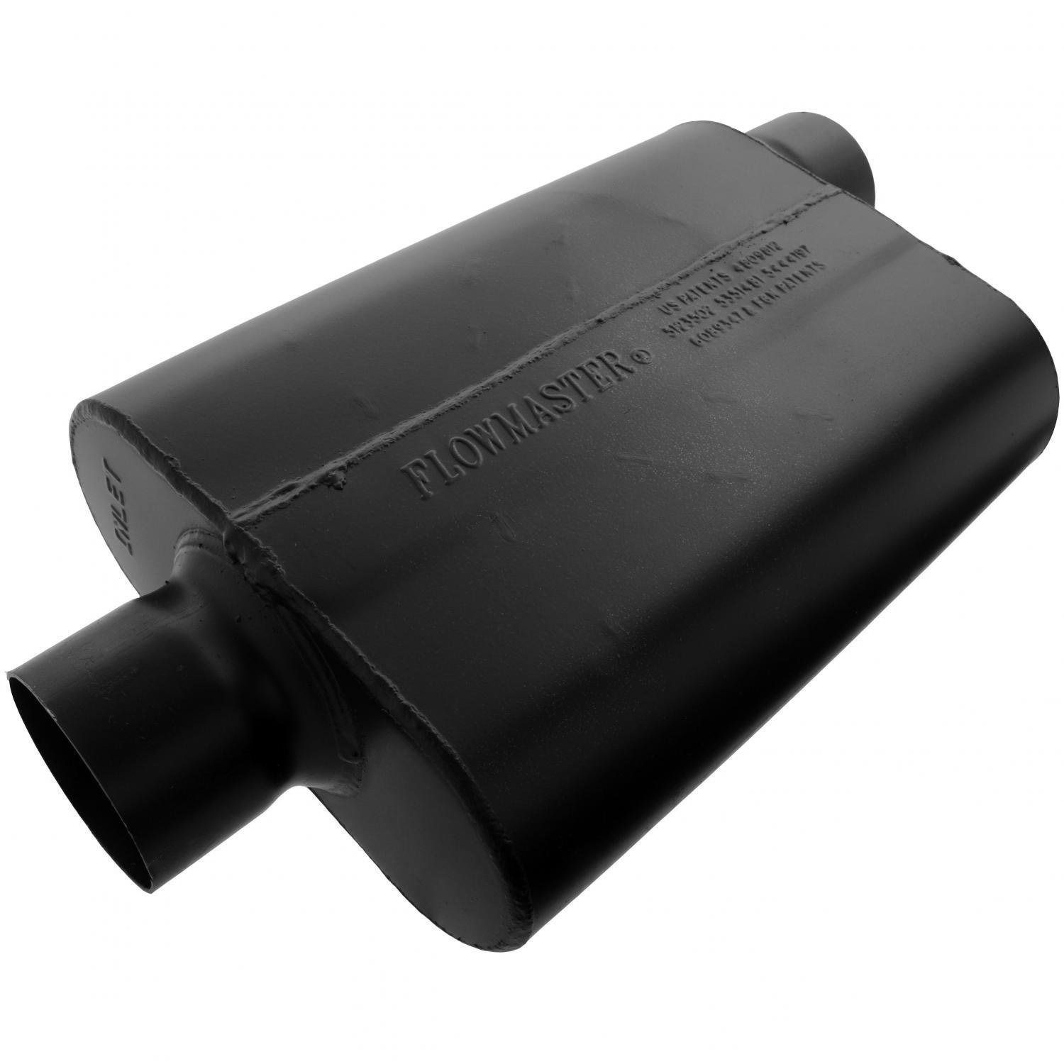 Flowmaster 943047 Super 44 Muffler - 3.00 Center IN / 3.00 Offset OUT - Aggressive Sound by Flowmaster (Image #1)