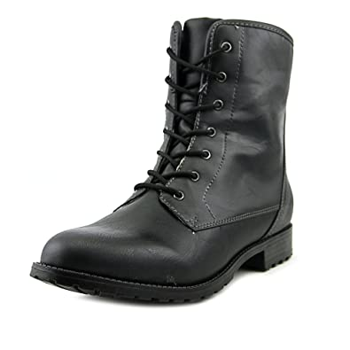 Amazon.com | Sporto Women's Julie Lace up Man-made Leather Boot ...