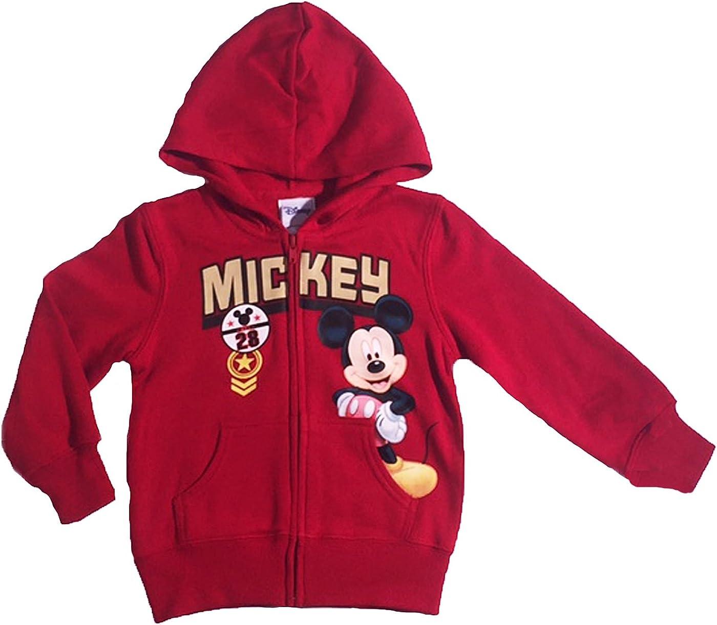 Disney Mickey Mouse Faces Boy/'s Christmas Sweatshirt