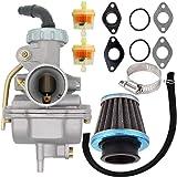 PZ20 Carburetor for Kazuma Baja 50cc 70cc 90cc 110cc 125cc TaoTao 110B NST SunL Chinese Quad 4 Stroke ATV 4 Wheeler Go…