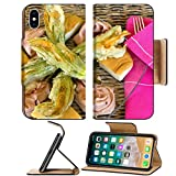 This Flip Case is Designed and Made for Apple iPhone X. This case is made of High quality PU LEATHER along with a durable plastic hard shell for instant protection. This design allows full access to touch screen, side buttons, charging, heads...