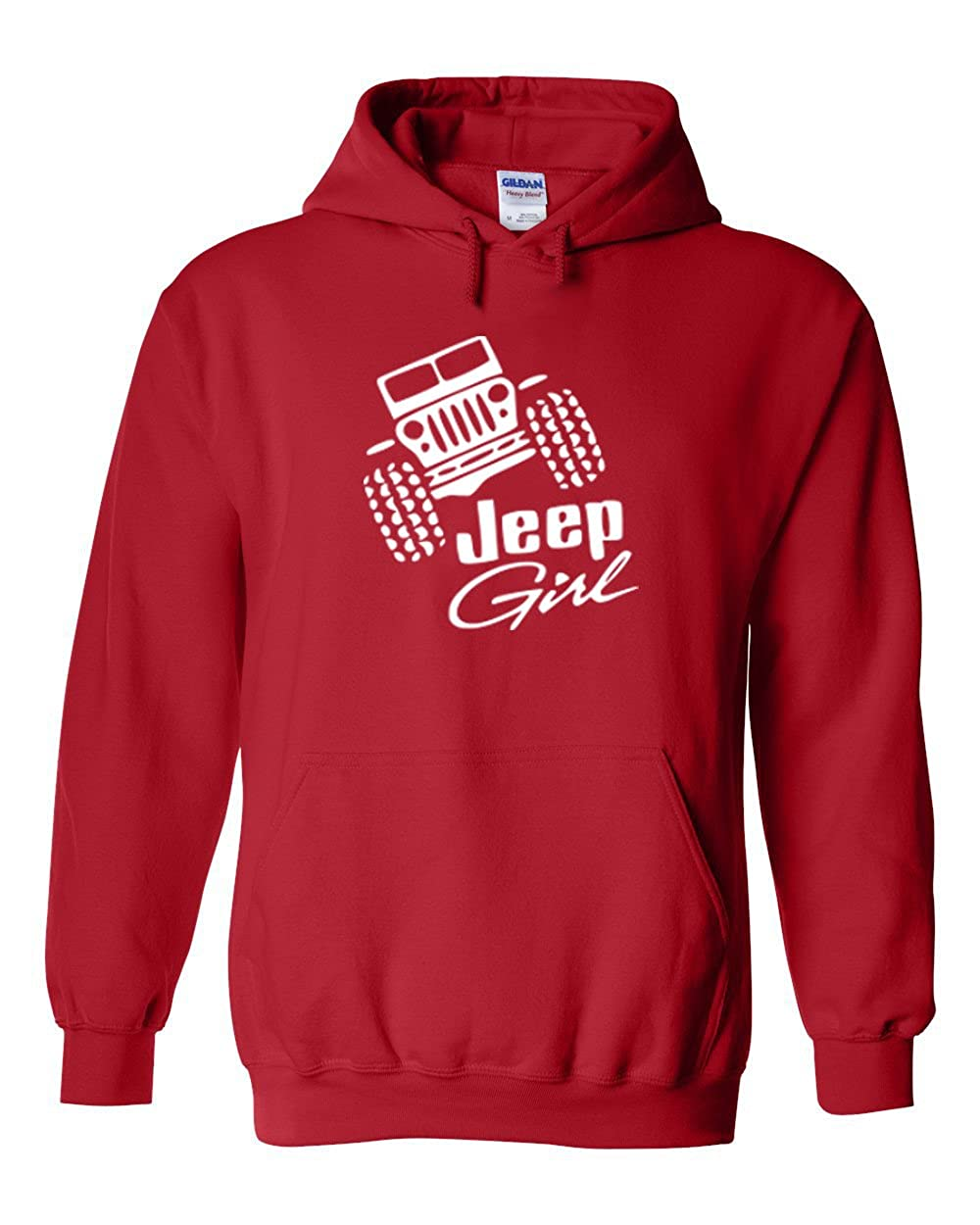 Jeep Girl Hoodie | Classic Off Road Fan Girl Hooded Sweatshirt | Womens