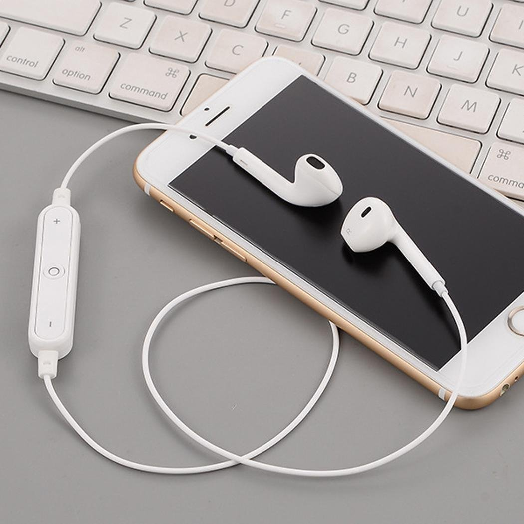 mp4 e Altri Dispositivi Tablet per Varie Marche e Modelli di Phones cellulari ALOKIE Cuffie Bluetooth 4.1 Auricolari Wireless Stereo pc mp3 Cuffie Stereo con Microfono
