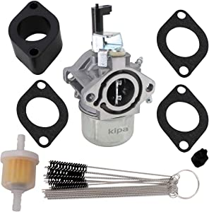 KIPA Carburetor for Briggs & Stratton 715782 715783 715525 715494 715390 715524 715493 715380 with Mounting Gaskets Fuel Filter & Carbon Dirt Jet Cleaner Tool Kit Durable