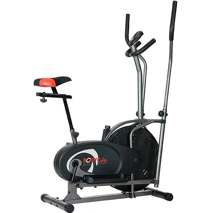 Cuerpo Flex Dual de cardio trainer bicicleta elíptica 2 en 1 ...
