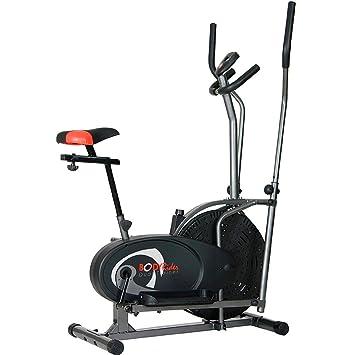 Cuerpo Flex Dual de cardio trainer bicicleta elíptica 2 en 1 Máquina de Cruz ejercicio Fitness