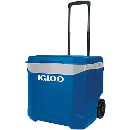 Igloo Nevera portátil Latitude 57 litros Roller Azul Ruedas ...