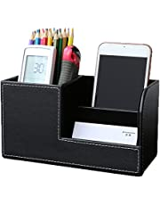 Flameer Desk Drawer Stationery Organizer Storage Box Pen/Pencil Cell Phone Holder