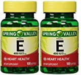 Spring Valley Vitamin E 400 IU, 100 Count
