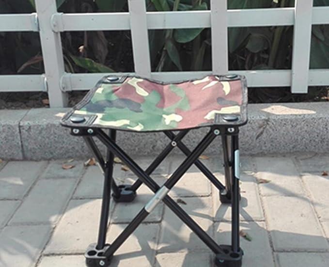 Wdbs portatile pieghevole metallo sgabelli imbottiti sedie