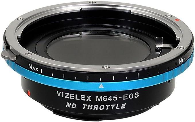 Fotodiox Adapter Pro Nd Mamiya 645 Linse Für Canon Eos Kamera