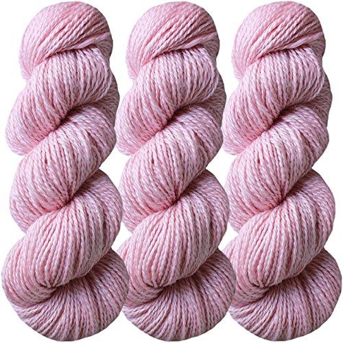 Living Dreams FLAX BOTANICA DK YARN. Elegant Merino Linen Silk for Knitting and Crochet. Cruelty Free, Responsibly Sourced, Pacific Northwest Handmade…