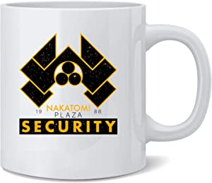 Poster Foundry Nakatomi Plaza Security 1988 Christmas Retro Ceramic Coffee Mug Tea Cup Fun Novelty Gift 12 oz