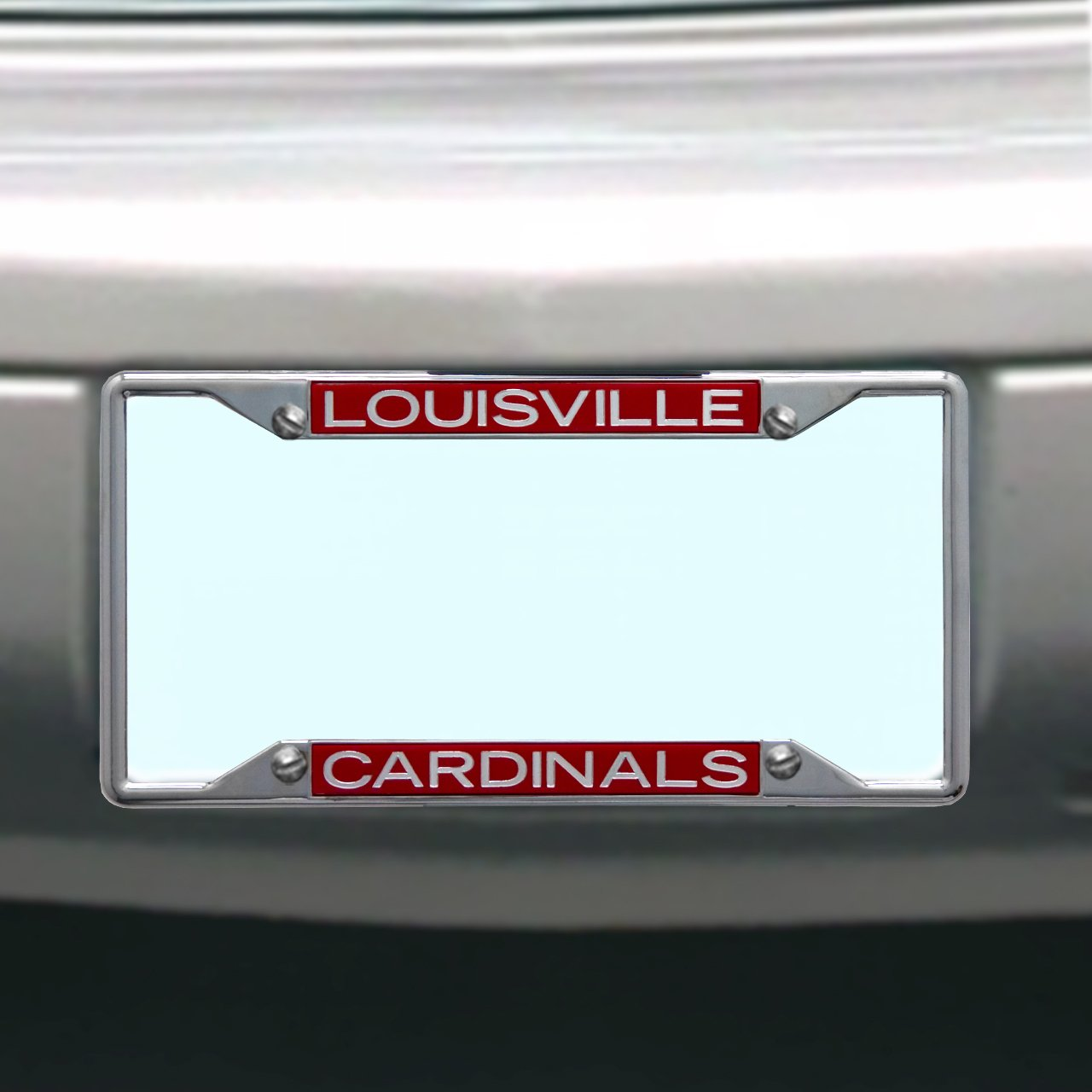 NCAA Louisville Cardinals License Plate Frame Wincraft S84981