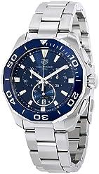 9d77b187e02 Tag Heuer Watches Tag Heuer Men s Aquaracer Watch (Blue)