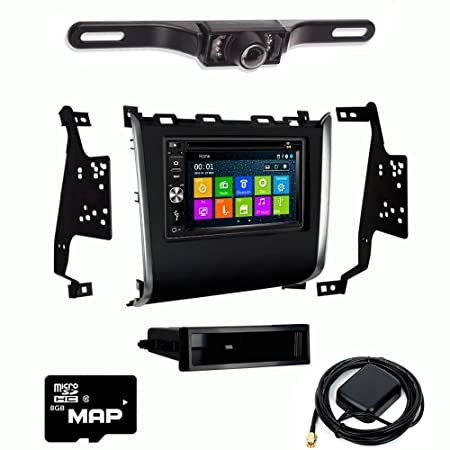 DVD GPS Navigation Multimedia Radio and Kit for Nissan Pathfinder 2013-2016 with Backup Camera