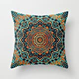 PaPaver pillow shams 16 x 16 inches / 40 by 40 cm(twice sides) nice choice for valentine,saloon,gf,car,play room,teens girls geometry
