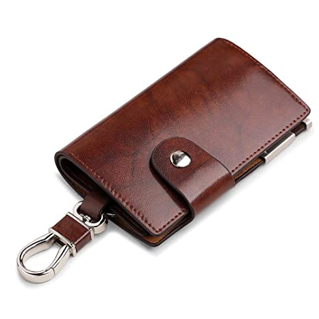 YAOSISI Mens Car Keys Carteras Hombre Key Holder Organizador ...