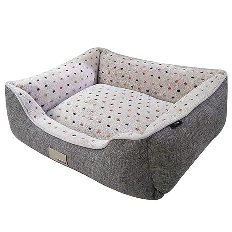 HenLooo Cama para Perros, extraíble y Lavable, Perros pequeños, medianos y Grandes,