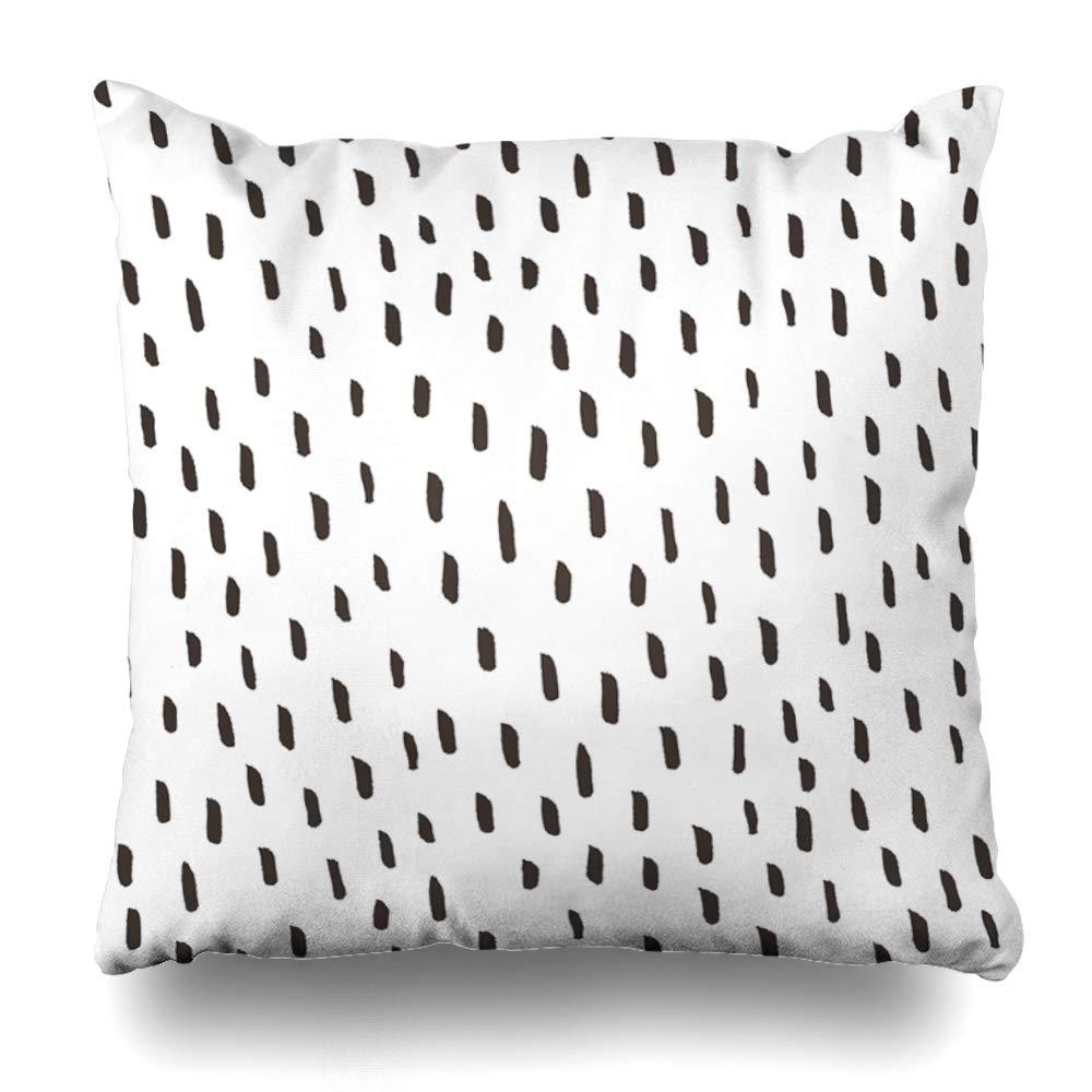 Ahawoso クッションカバー トライバルブルー 抽象柄 エスニックグラフィック カラー アメリカンアステカの鳥 花 幾何学模様 装飾的 枕カバー 正方形 サイズ20インチ x 20インチ ホームインテリア クッションケース Square 16