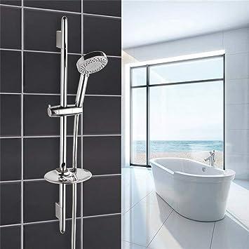Ducha de baño Slide bar accesorios de acero inoxidable ...