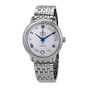 8fad149c9afc Image Unavailable. Image not available for. Color  Omega De Ville Prestige  Co-Axial Automatic Diamond Grey Dial Ladies Watch ...