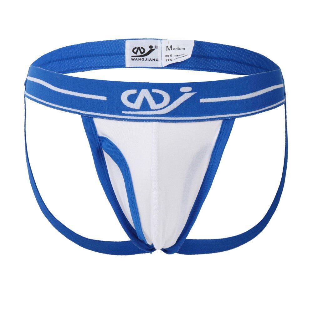 83b5c2171c78b AopnHQ Mens Sexy Underwear Shorts Underpants Soft Cotton Briefs Panties  White at Amazon Men's Clothing store: