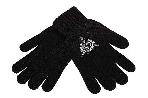 0ac39439c18b Guess - Gant - Femme - Noir - taille unique  Amazon.fr  Vêtements et ...