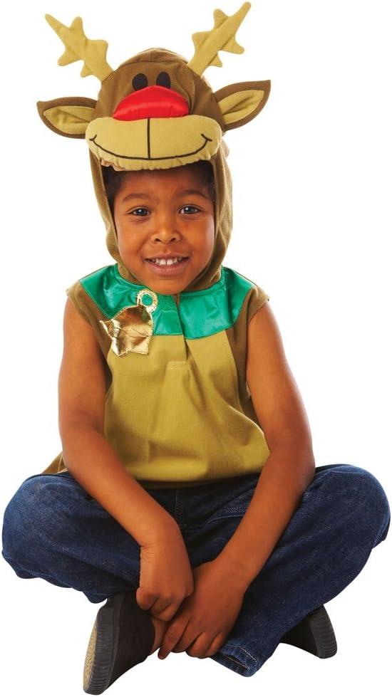 Christy`s - Disfraz de ciervo para niño, talla única (995060 ...