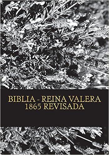 descargar biblia reina valera 1865 pdf download
