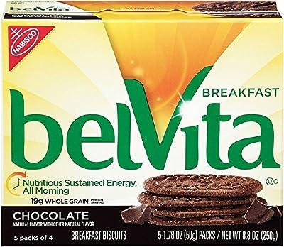 belVita Breakfast Biscuits, Chocolate, 8.8 Ounce (Pack of 6) from Belvita