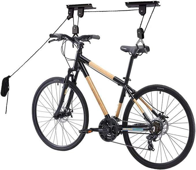 Bicicleta De Montaña Ascensor Bicicleta Techo Suspensión Colgador ...
