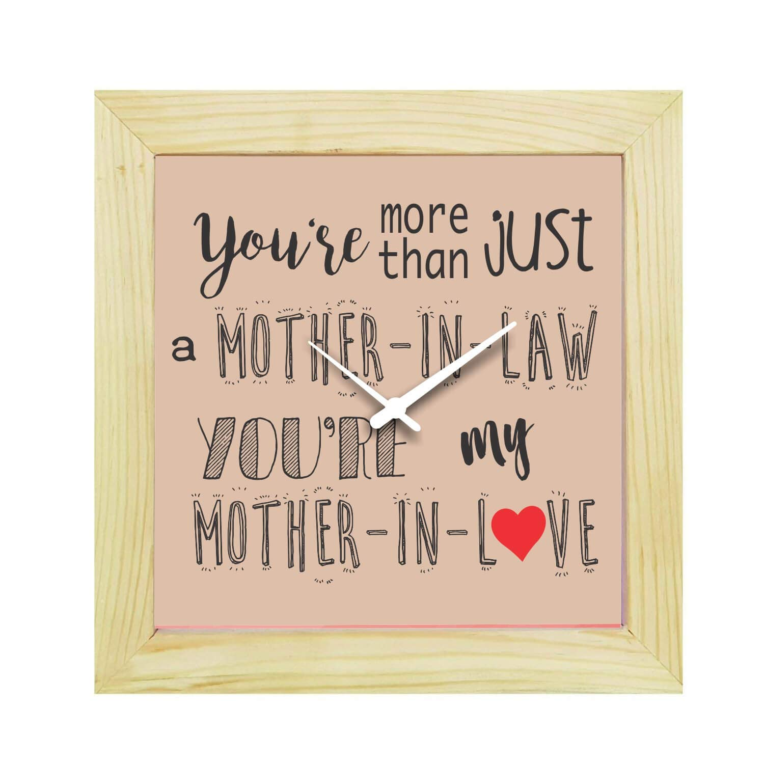 Buy YaYa Cafe Birthday Gifts For Mother In Law Love Desk Clock