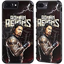 Official WWE Roman Reigns Superstars Gold Gripper Case for Apple iPhone 7 Plus / iPhone 8 Plus