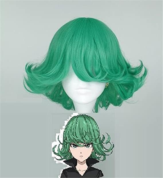 Amazon Com Yoyoshome One Punch Man Anime Tatsumaki Cosplay Wig
