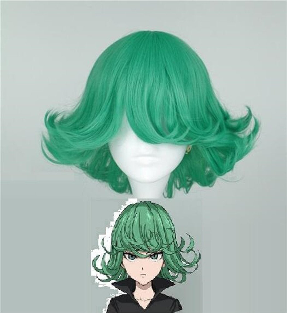 YOYOSHome® One-Punch Man Anime Tatsumaki Cosplay Wig Party Hair