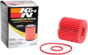 K&N Premium Oil Filter: Designed to Protect your Engine: Fits Select LEXUS/TOYOTA/LOTUS/SCION Vehicle Models (See Product Description for Full List of Compatible Vehicles), HP-7020