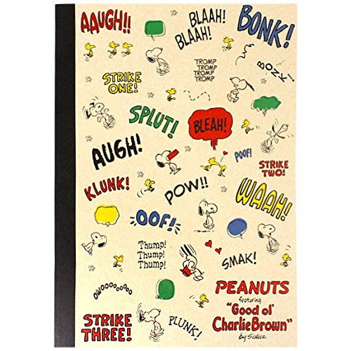 [SNOOPY] Craft notes B5 onomatopoeia