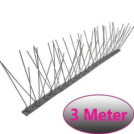 Pinchos antipalomas de 3 metros (6 piezas de 50 cm) con 84 ...